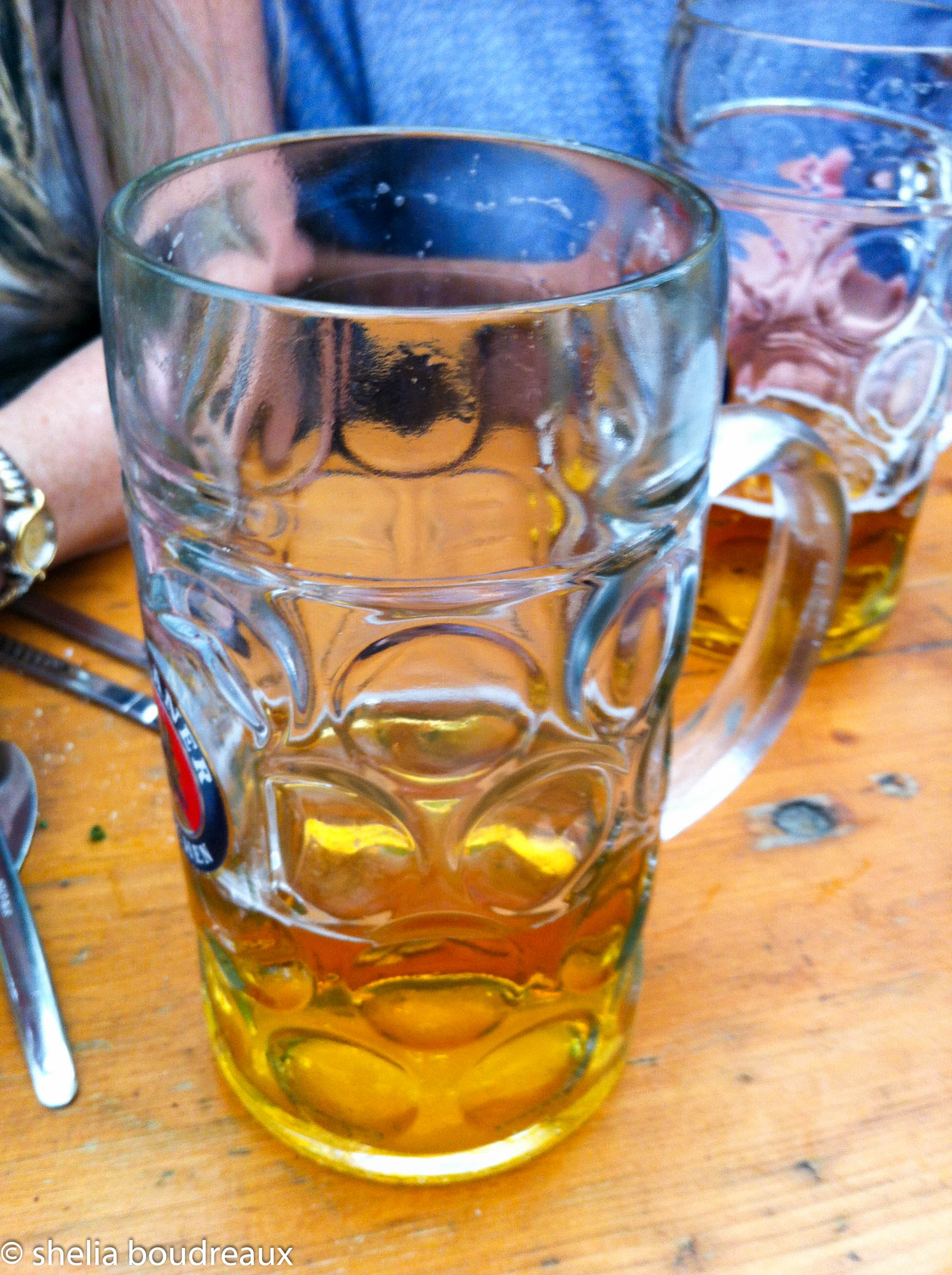 The beers are huge!