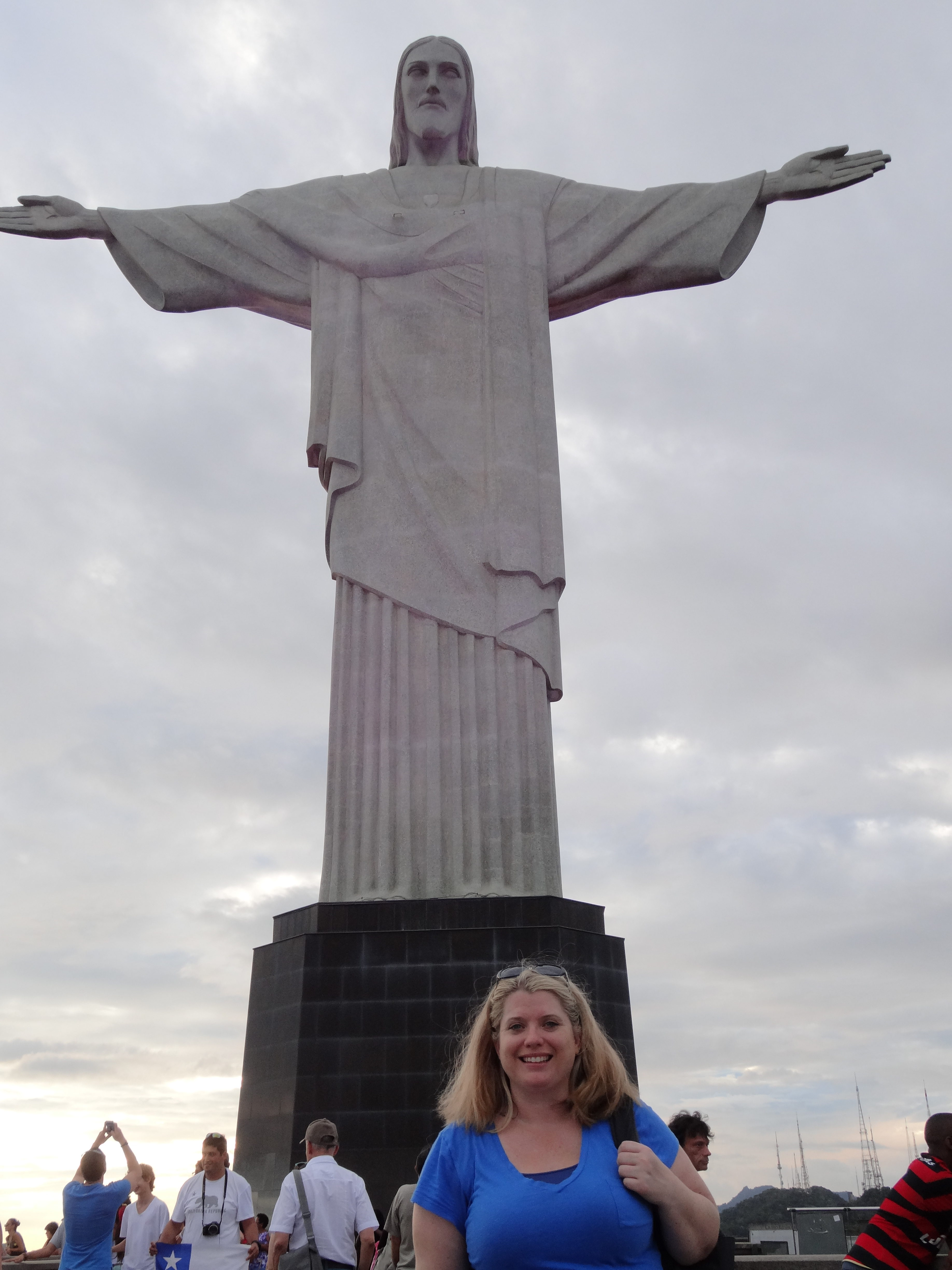 Me at the Christ Redeemer