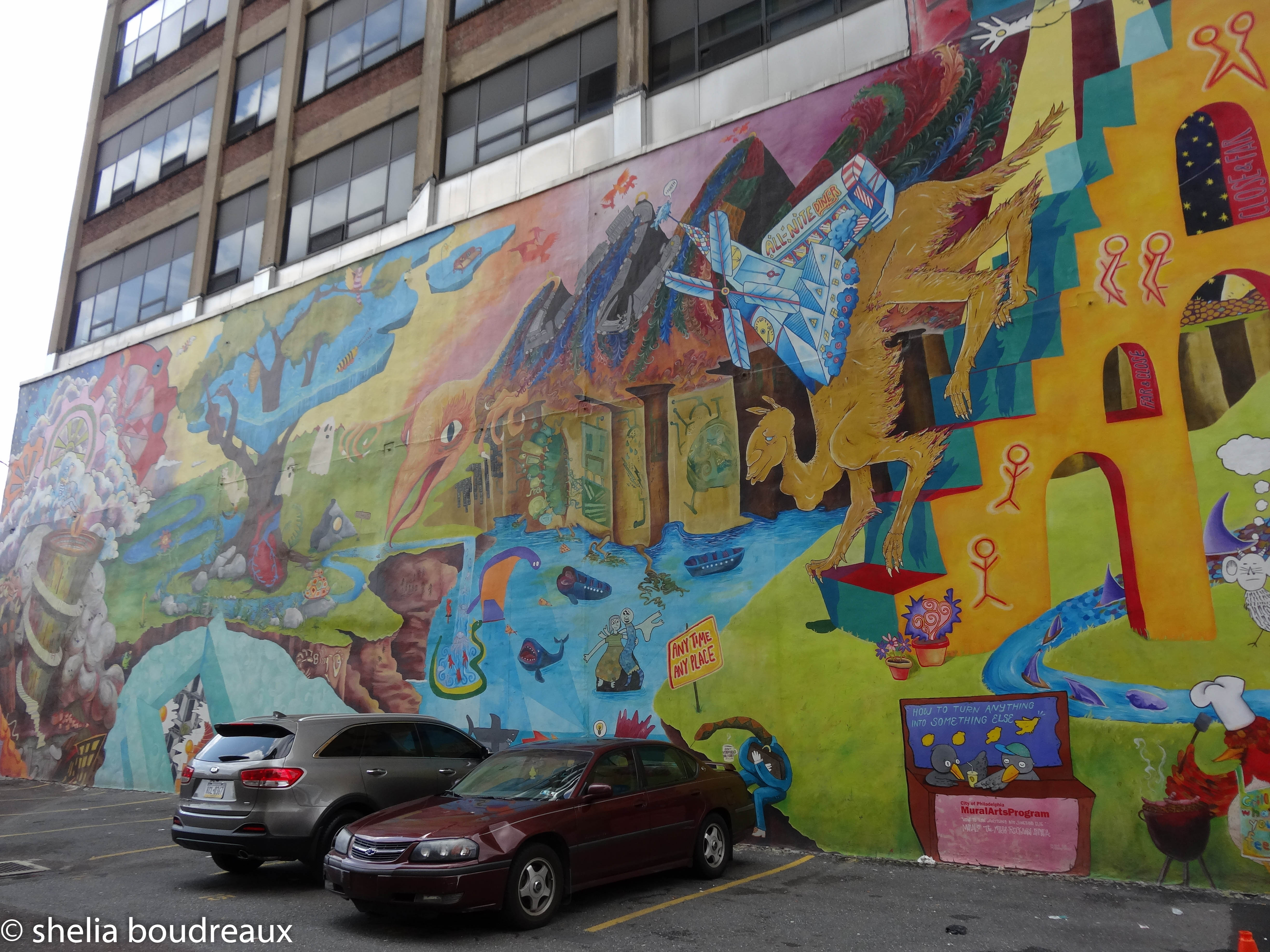 How to turn anything into something else - Philadelphia Mural Tour