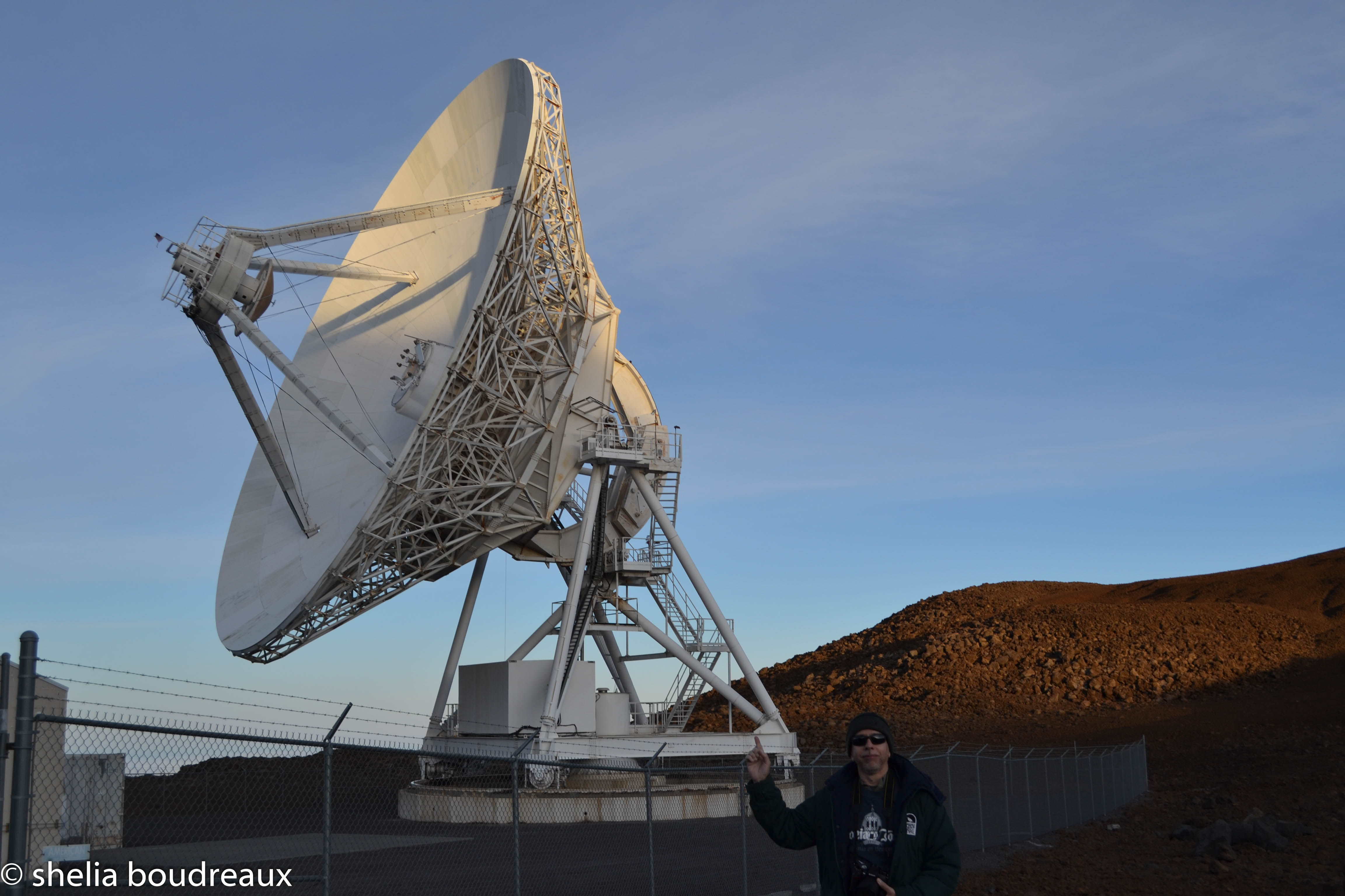Satellites at Mauna Kea