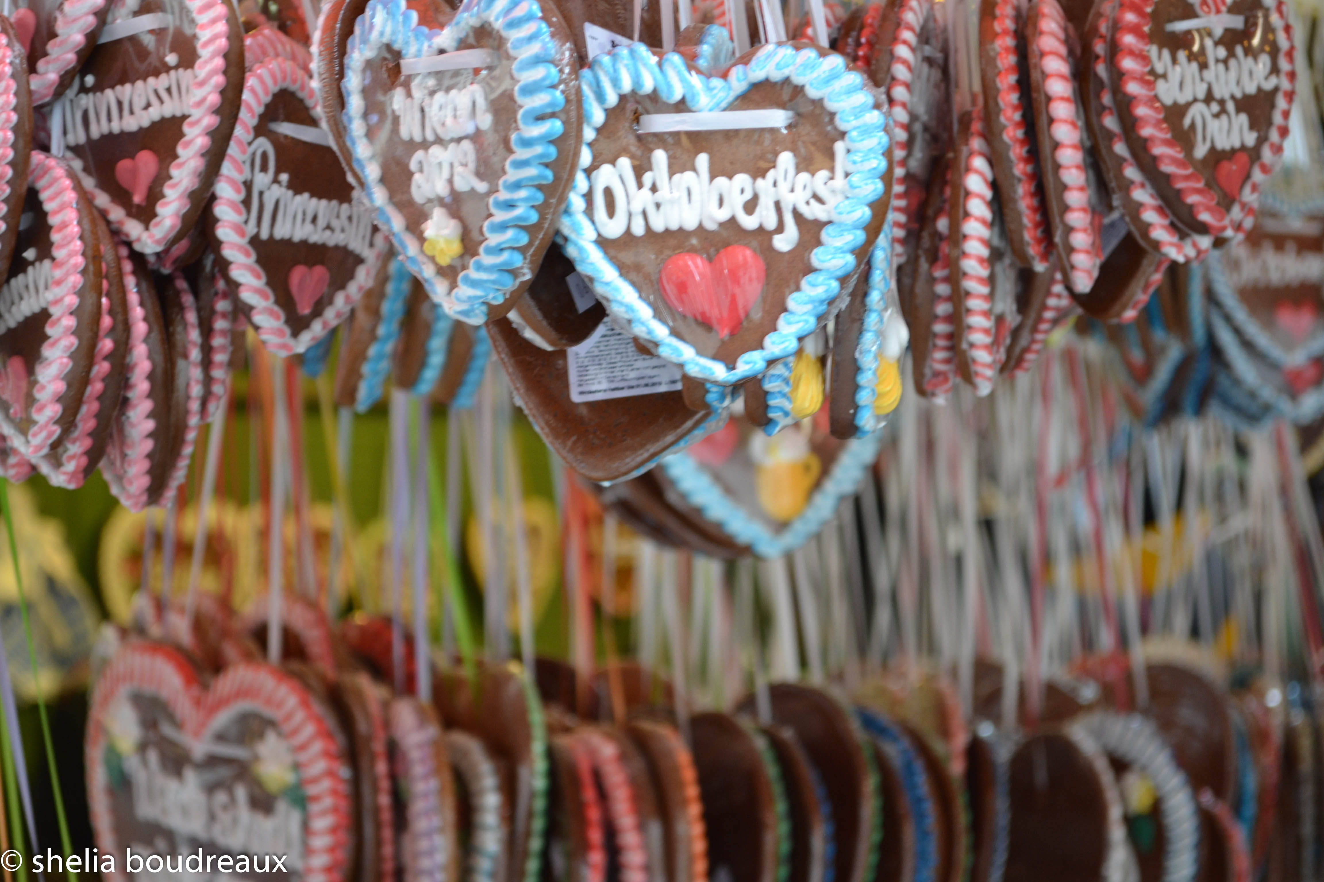 Gingerbread Cookies Munich Oktoberfest
