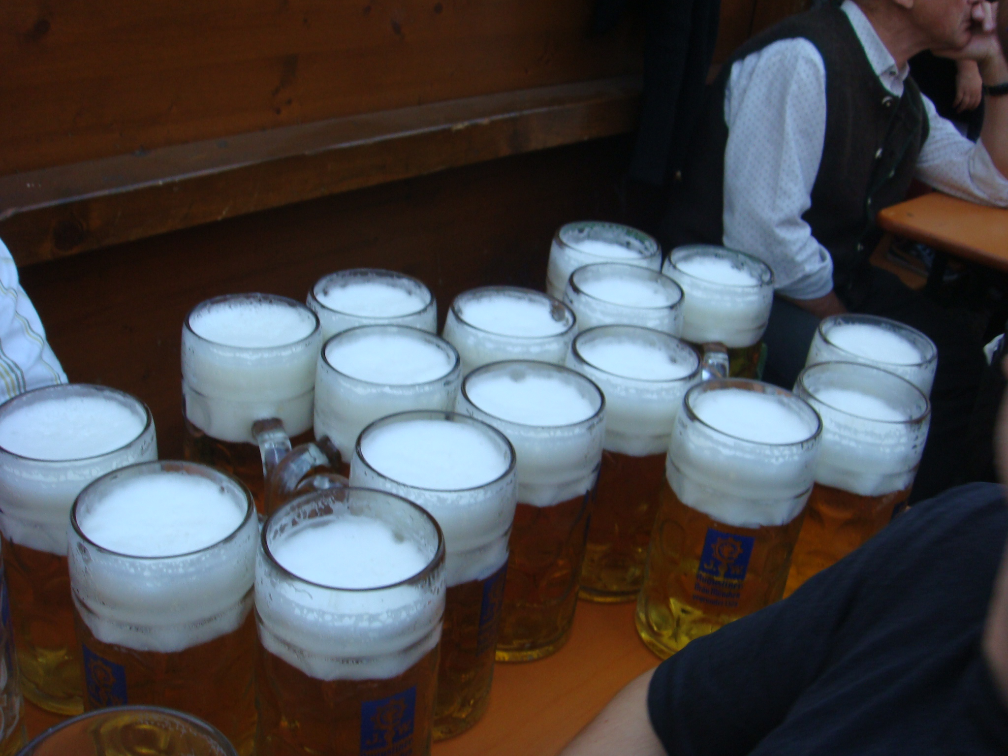 Beer at Oktoberfest munich, Germany